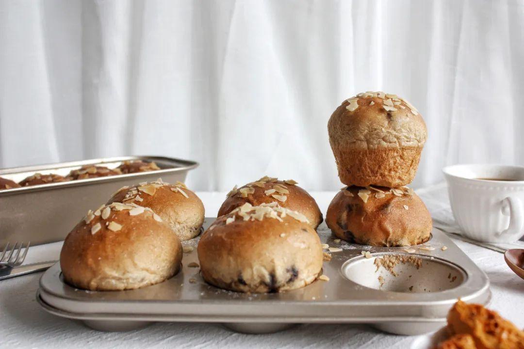 光喝咖啡不过瘾,试试这个咖啡全麦面包,特软特香的早餐,精神一整天!