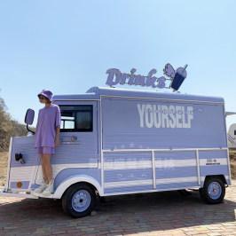 街景餐车咖啡奶茶车饮品车 流动冰淇淋车商用小吃车