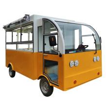 小吃车多功能商用移动摆摊电动四轮餐车 美食快餐车