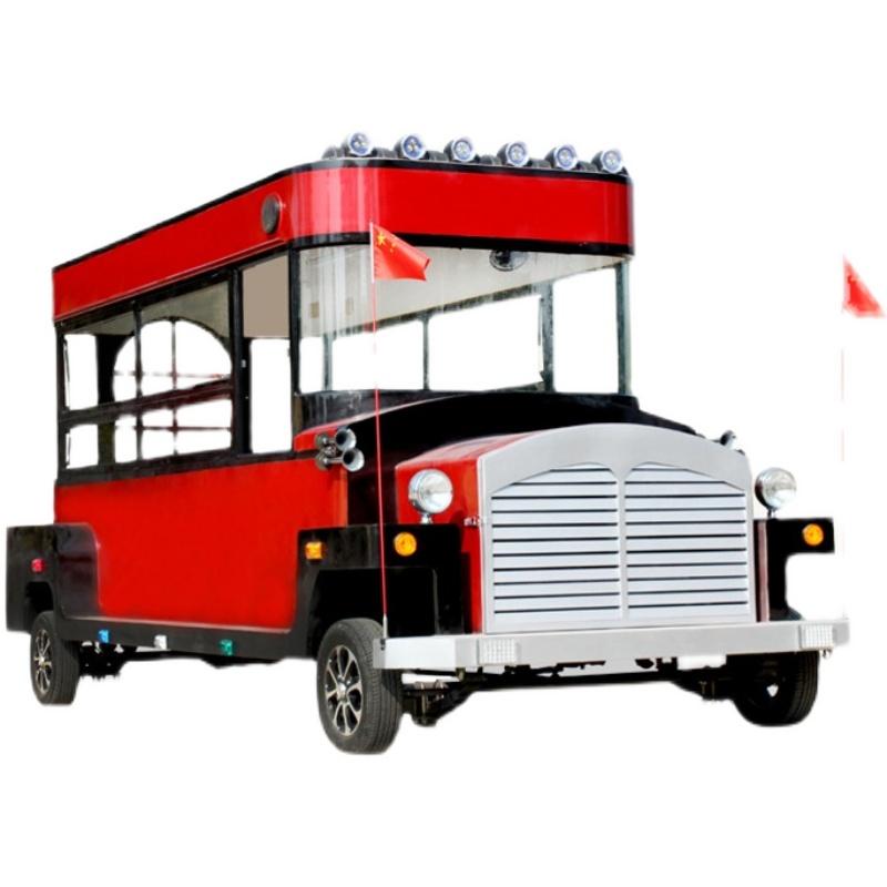 商用多功能小吃车餐车 移动电动四轮房车 流动夜市炸串