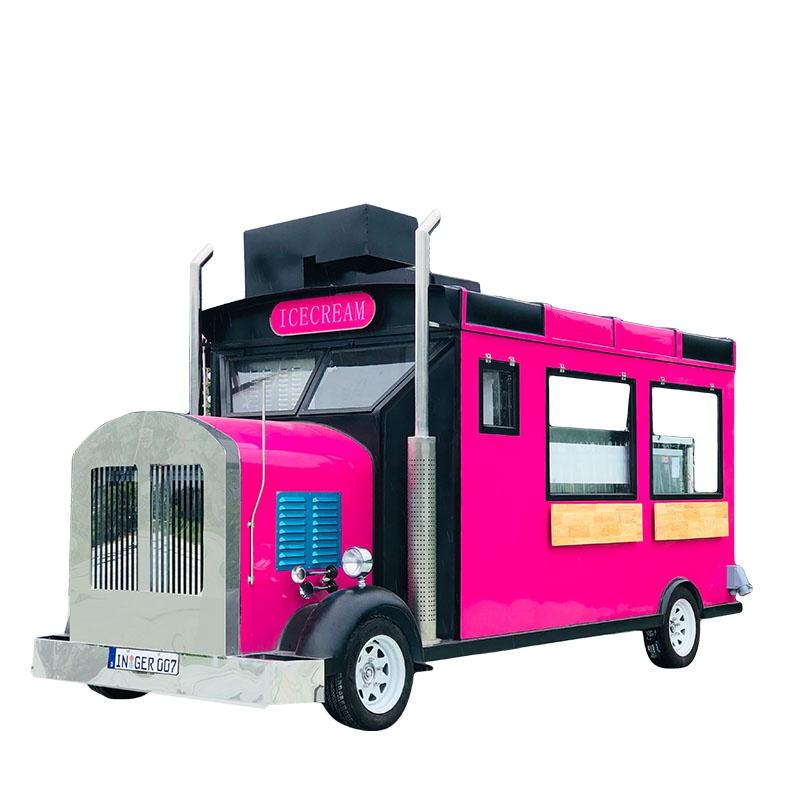 小吃车多功能移动餐车商用雪糕车流动冰淇淋车