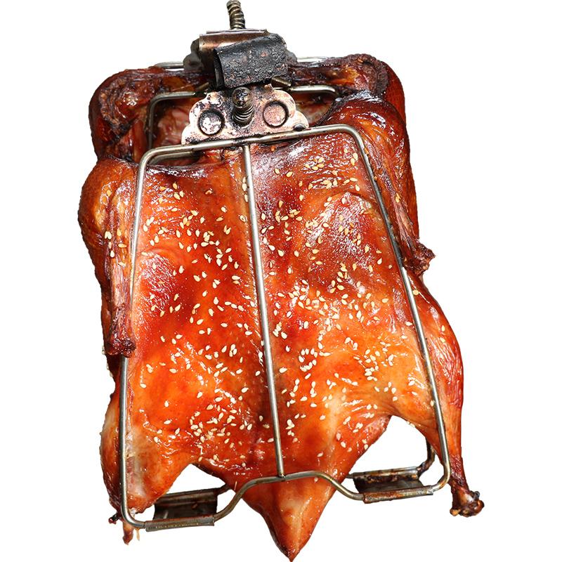 网红铁板鸭小吃技术配方腌料啤酒烤鸭美食培训视频教程